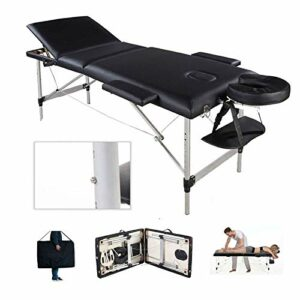Massageliege Aluminium 3 Zonen