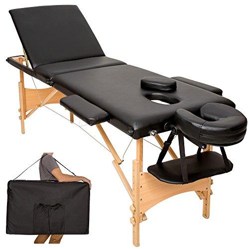 Mobile Massageliege Holz