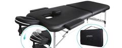 Massageliege klappbar - 2 Zonen klappbar - Naipo